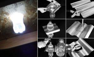 bouteille, lumière, low tech